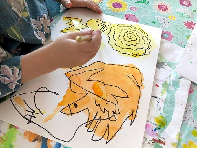 Starting art classes for kids